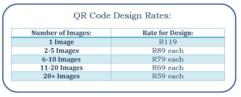 qr code design rates