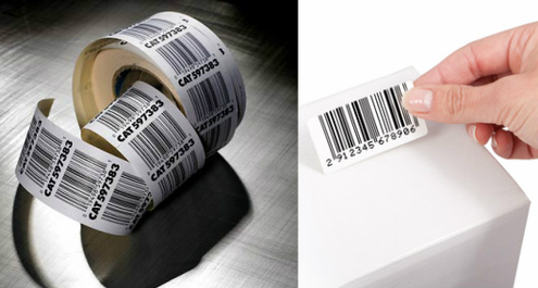 Online Barcode labels and stickers