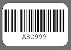 asset label dimension